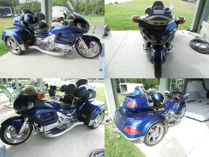 2014 Honda Gold Wing Blue for sale craigslist