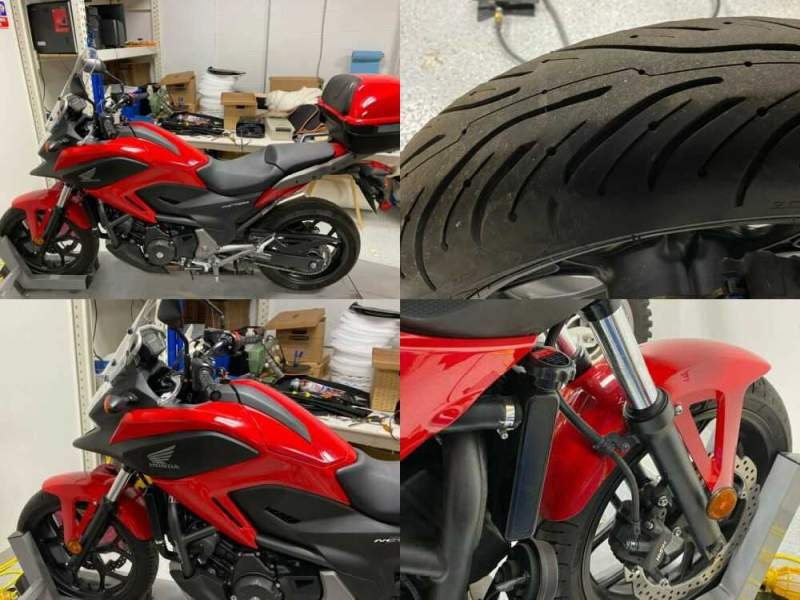 2014 Honda NC700X Red for sale