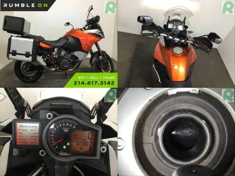 2014 KTM 1190 ADVENTURE CALL (877) 8-RUMBLE Orange for sale craigslist
