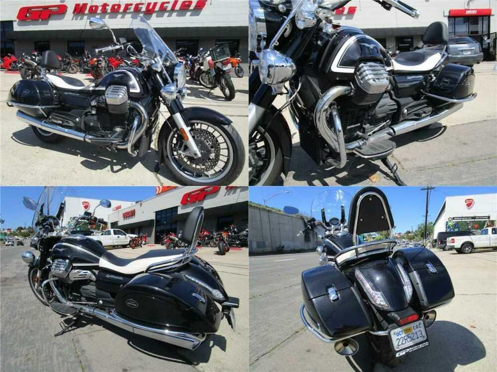2014 Moto Guzzi California 1400 Touring Black for sale craigslist
