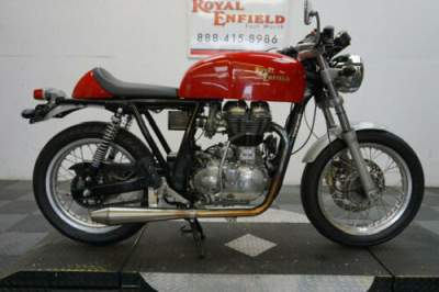 2014 Royal Enfield CONTINENTAL GT CARB CONVERSION Red for sale craigslist