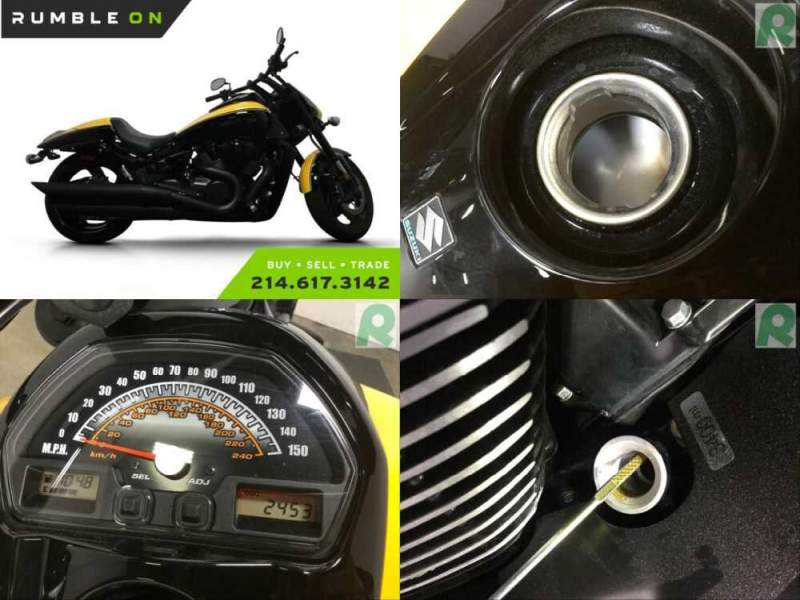 2014 Suzuki M109 BOULEVARD BOSS CALL (877) 8-RUMBLE Black for sale craigslist
