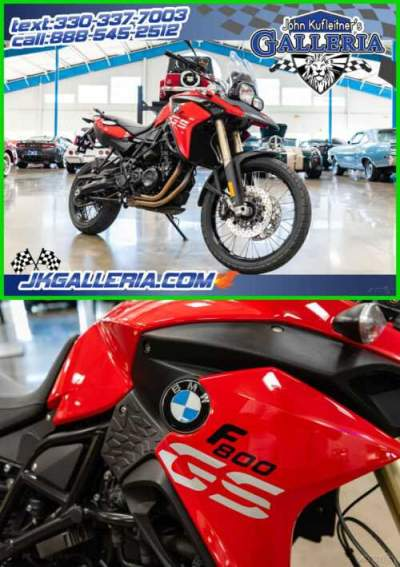 2015 BMW F-Series 800 GS Red for sale craigslist