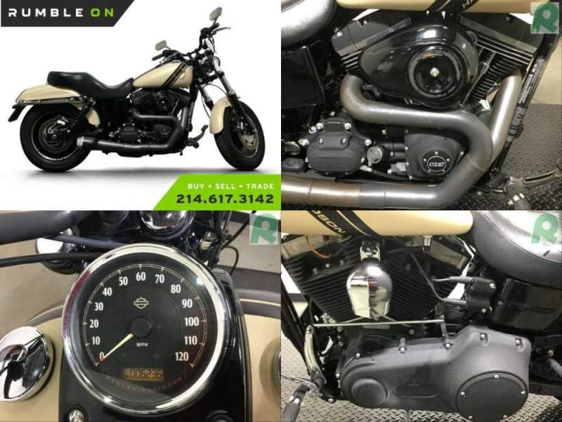 2015 Harley-Davidson Dyna CALL (877) 8-RUMBLE Brown for sale craigslist