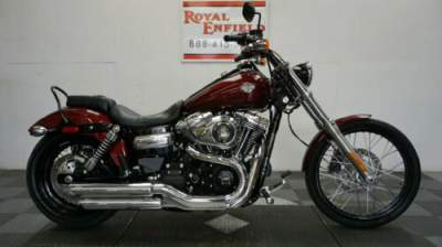 2015 Harley-Davidson Dyna LOW MILES NICE BIKE Burgundy for sale