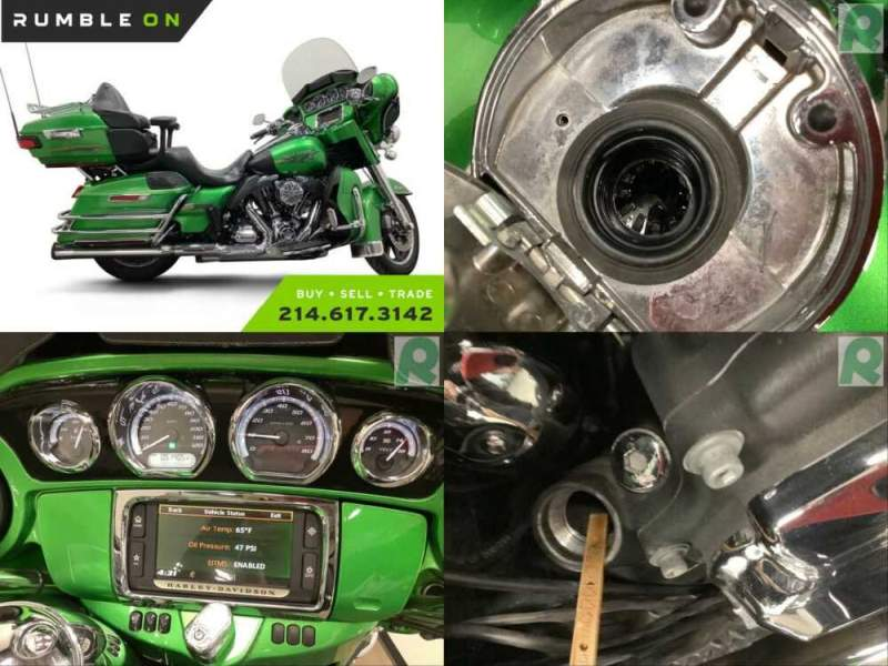 2015 Harley-Davidson FLHTKL ULTRA LIMITED LOW CALL (877) 8-RUMBLE Green for sale