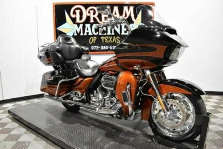 2015 Harley-Davidson FLTRUSE - Screamin Eagle Road Glide Ultra CVO Carbon Dust And Autum Sunset for sale craigslist