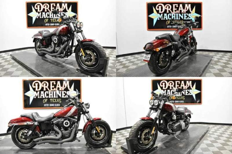 2015 Harley-Davidson FXDF - Dyna Fat Bob Red for sale