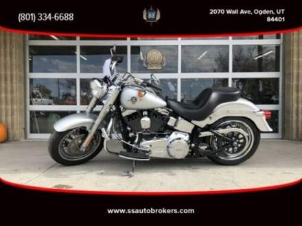 2015 Harley-Davidson Softail FLSTF Softail Fat Boy Gray for sale craigslist