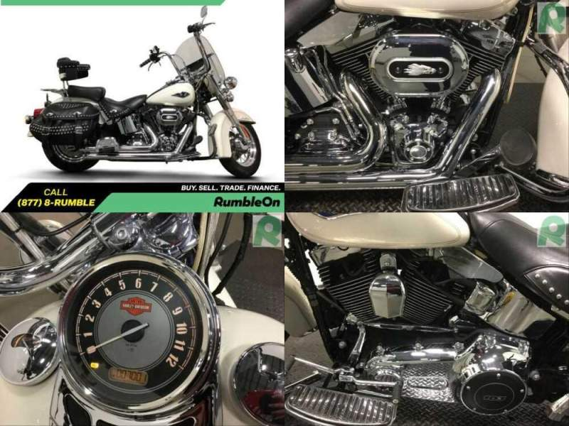 2015 Harley-Davidson Softail CALL (877) 8-RUMBLE White for sale craigslist