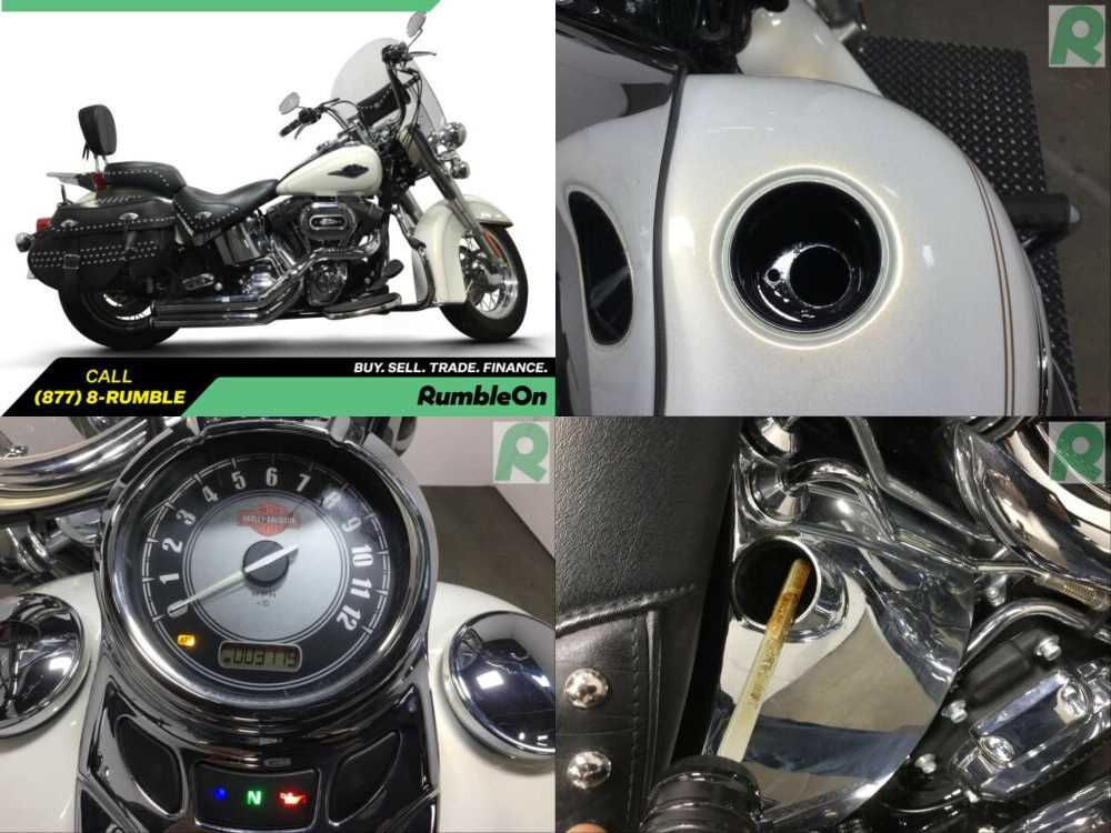 2015 Harley-Davidson Softail CALL (877) 8-RUMBLE White for sale