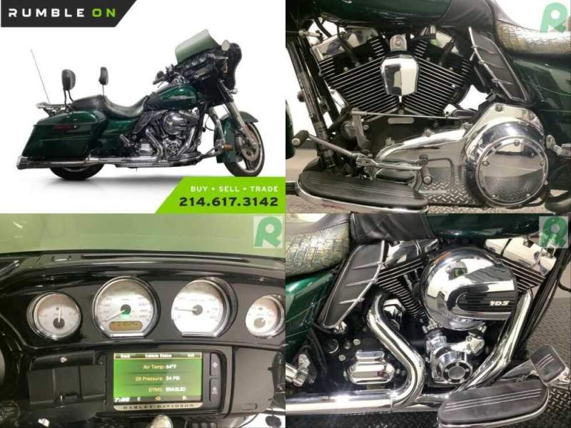 2015 Harley-Davidson Touring CALL (877) 8-RUMBLE Green for sale