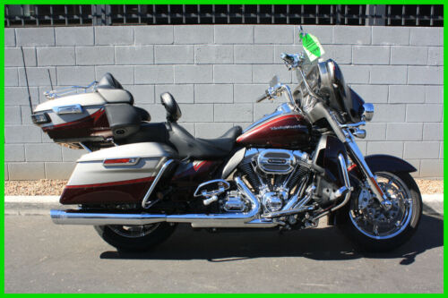 2015 Harley-Davidson Touring FLHTKSE CVO Ultra Limited Palladium Silver/Typhoon Maroo for sale craigslist