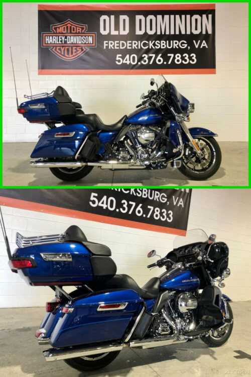 2015 Harley-Davidson Touring Ultra Limited Low Superior Blue for sale craigslist