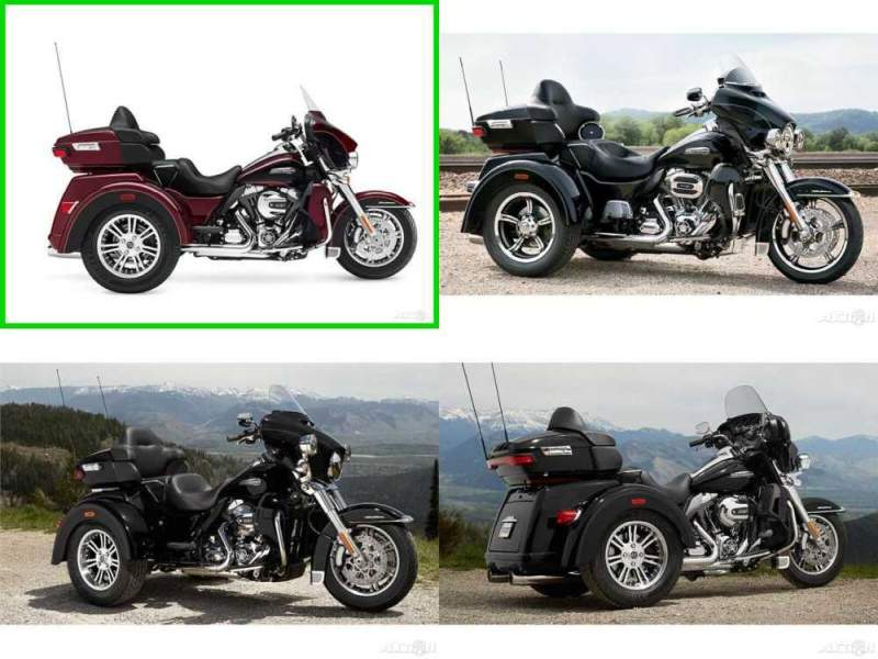 2015 Harley-Davidson Trike Tri Glide Ultra Mysterious Red Sunglo / Blackened Cayenne Sunglo for sale