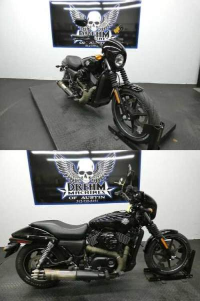 2015 Harley-Davidson XG750 - Street 750 Black for sale craigslist