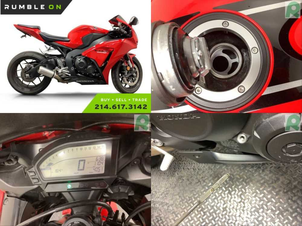 2015 Honda CBR1000RRF CALL (877) 8-RUMBLE Red for sale