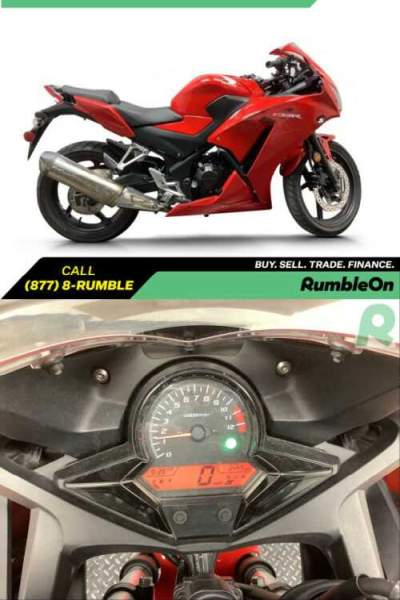 2015 Honda CBR300RLF CALL (877) 8-RUMBLE Red for sale craigslist