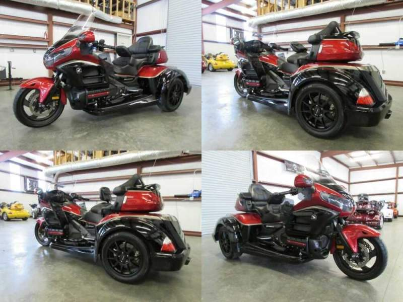 2015 Honda Gold Wing RED AND BLACK for sale craigslist