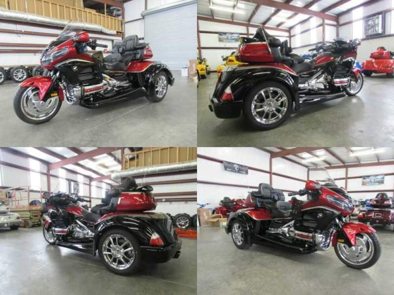 2015 Honda Gold Wing RED AND BLACK for sale