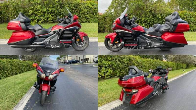 2015 Honda Gold Wing Red for sale