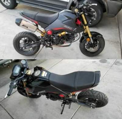 2015 Honda Grom 125 Black for sale craigslist