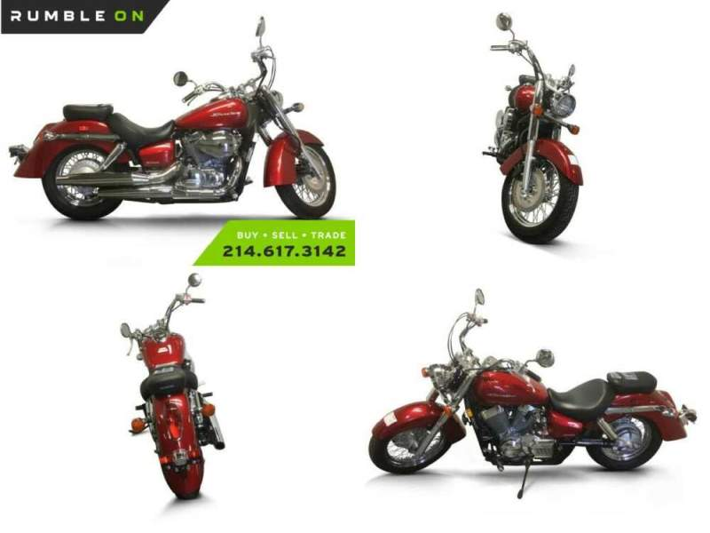 2015 Honda Shadow CALL (877) 8-RUMBLE Red for sale craigslist