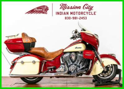 2015 Indian Roadmaster Indian RedIvory Cream Indian Red/Ivory Cream for sale craigslist