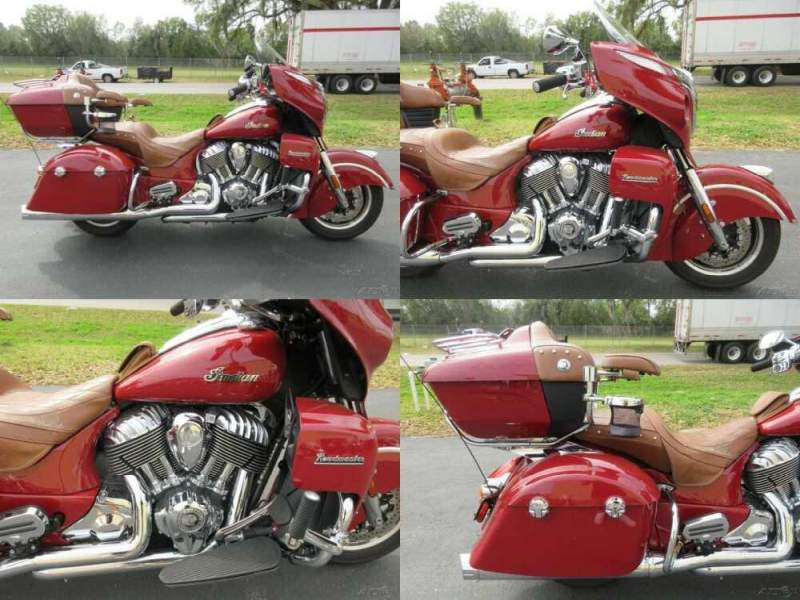 2015 Indian Roadmaster Red for sale