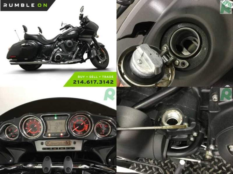 2015 Kawasaki VN1700KFFL VULCAN 1700 VAQUERO CALL (877) 8-RUMBLE Gray for sale craigslist