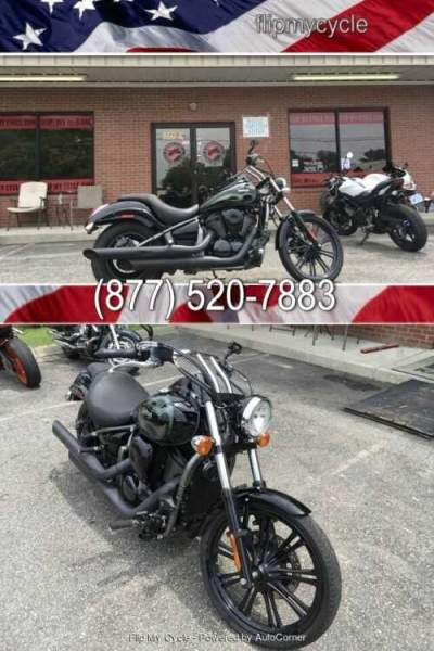 2015 Kawasaki VN900CFF Vulcan Custom Black for sale craigslist
