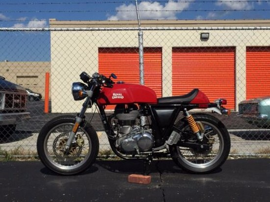 2015 Royal Enfield CONTINENTAL GT 535 CAFE RACER Red for sale