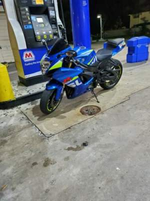 2015 Suzuki GSX-R 750 Blue for sale