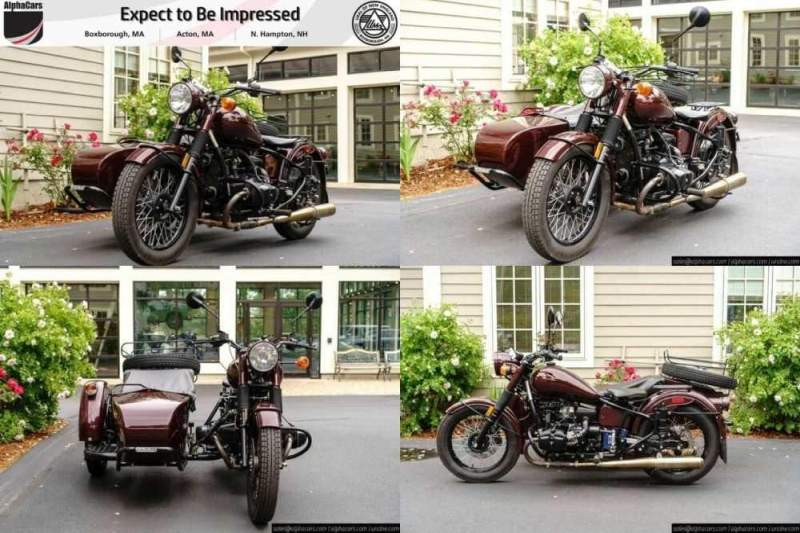 2015 Ural M70 Burgundy Custom Burgundy for sale craigslist