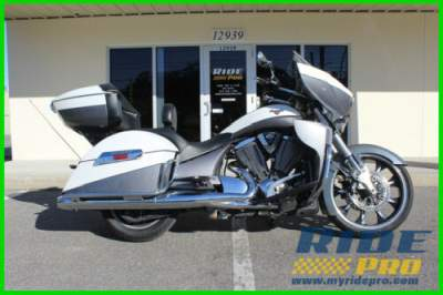 2015 Victory Cross Country Tour White for sale