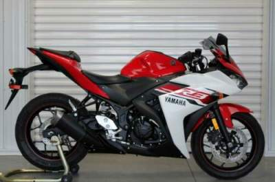 2015 Yamaha YZF-R3 Red for sale
