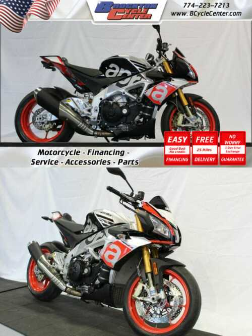 2016 Aprilia Tuono V4 1100 Factory Silver for sale