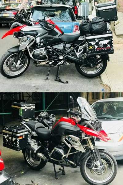 2016 BMW R-Series 1200 GS Red for sale
