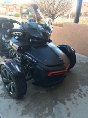 2016 Can-Am Spyder® F3 Limited Special Series 6-Speed Semi-Aut Black for sale