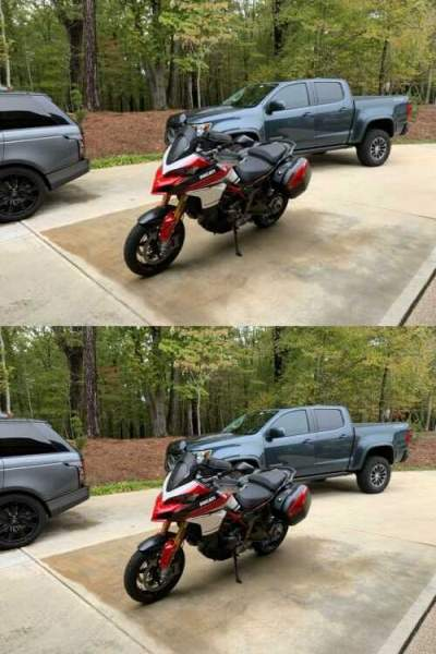 2016 Ducati Multistrada red/white for sale craigslist