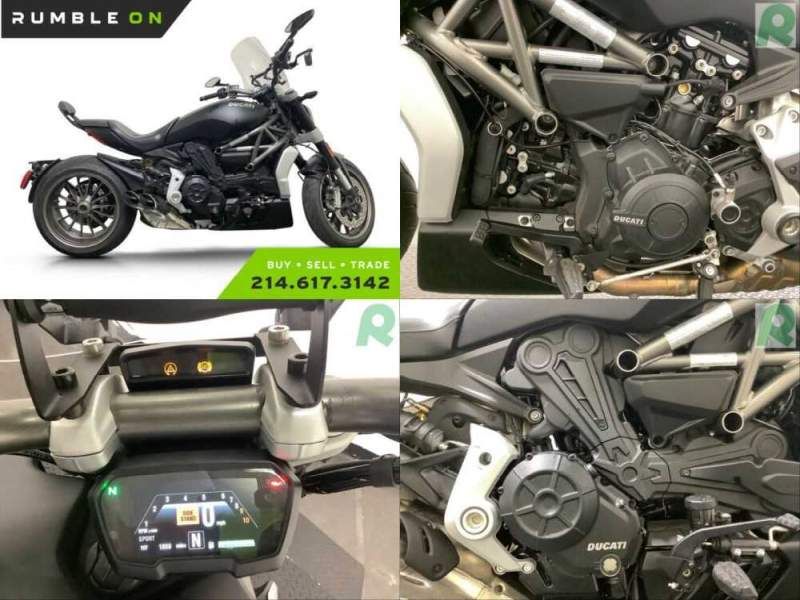 2016 Ducati XDiavel CALL (877) 8-RUMBLE Black for sale