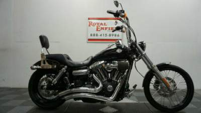 2016 Harley-Davidson Dyna DYNA WIDE GLIDE Black for sale craigslist