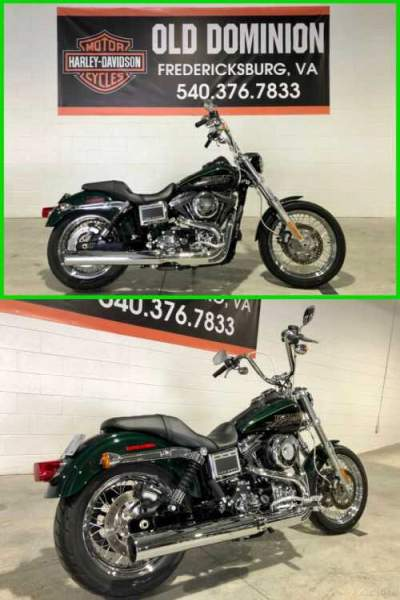 2016 Harley-Davidson Dyna Deep Jade Pearl / Vivid Black for sale