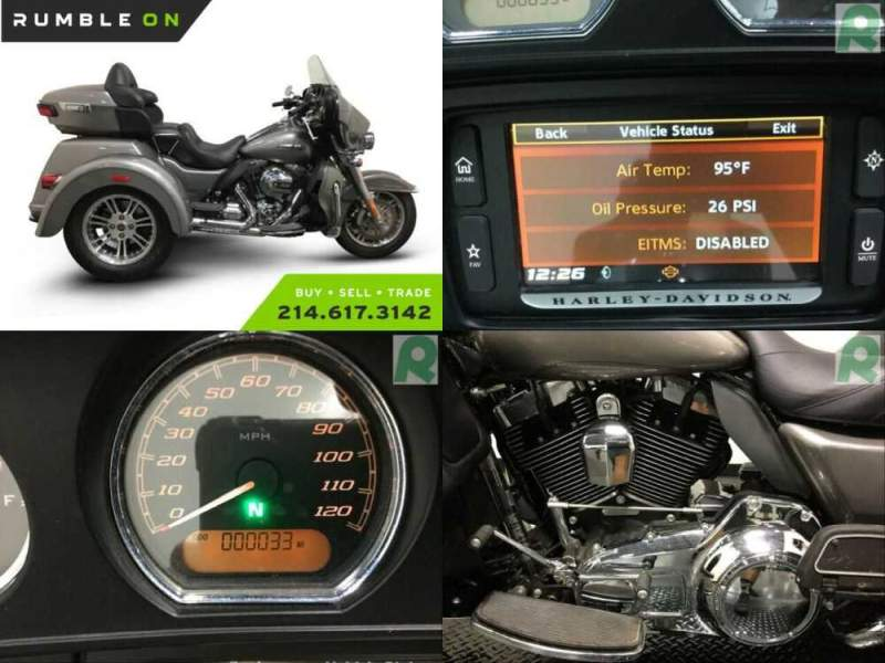 2016 Harley-Davidson FLHTCUTG CALL (877) 8-RUMBLE Silver for sale