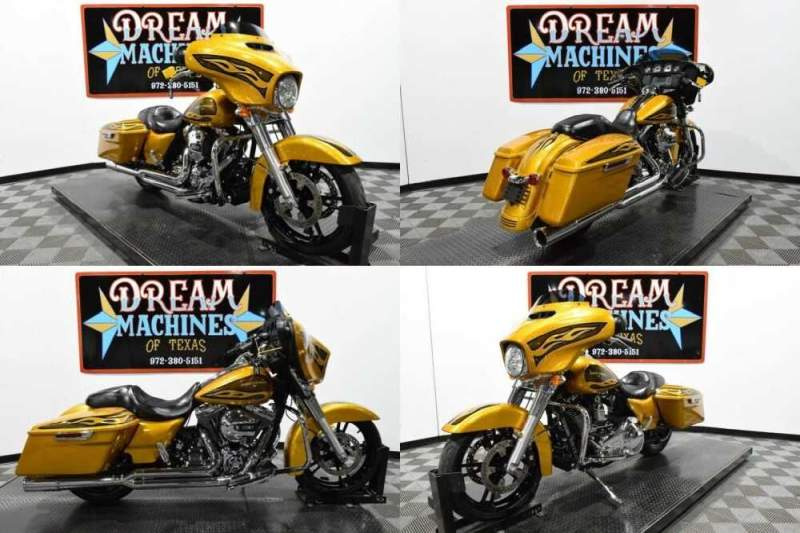 2016 Harley-Davidson FLHX - Street Glide Gold for sale