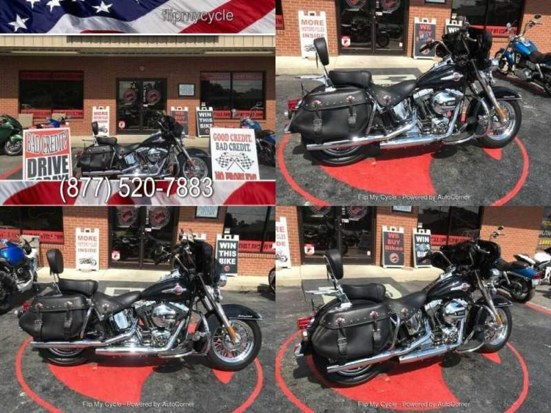 2016 Harley-Davidson FLSTCI Heritage Softail Classic Black for sale