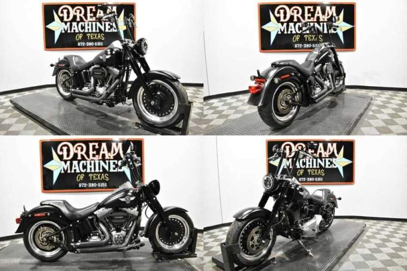 2016 Harley-Davidson FLSTFB - Softail Fat Boy Lo Black for sale
