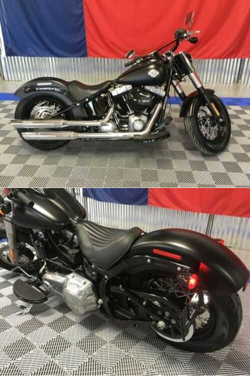 2016 Harley-Davidson Softail Slim Fls Fls Black for sale