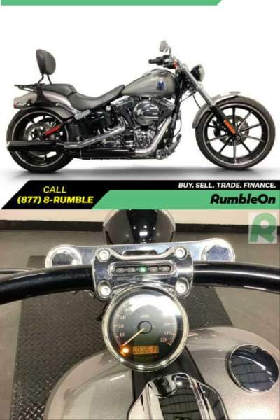 2016 Harley-Davidson Softail CALL (877) 8-RUMBLE Gray for sale craigslist