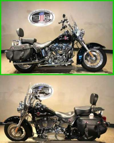 2016 Harley-Davidson Softail Heritage Softail® Classic Vivid Black for sale craigslist